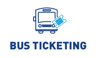 bus ticket booking icon